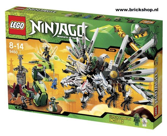 Lego Ninjago Groot Drakenduel Lego 9450 5702014831254