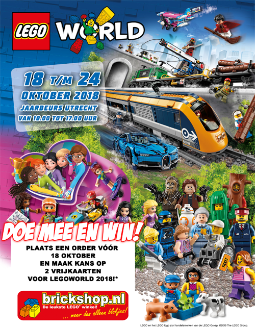 LEGOWORLD 2018 NB Poster 500px