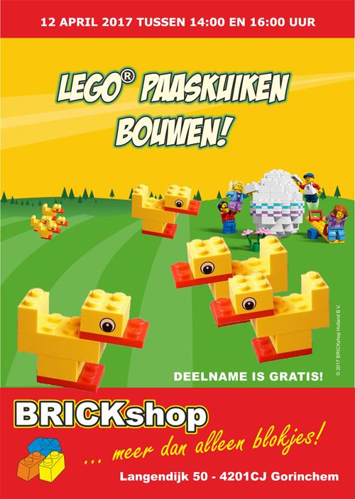 LEGO Paaskuiken Bouwen