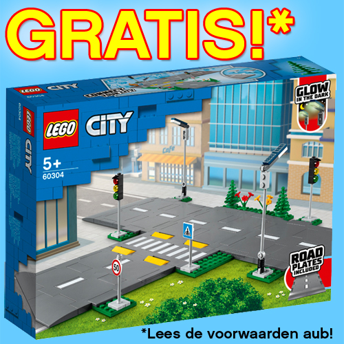 LEGO City Wegenplaten Cadeau!