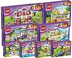 LEGO Friends Collections 2014