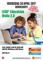 BRICKshop Workshop Aankondiging WeDO Mini Milo 26april 250px
